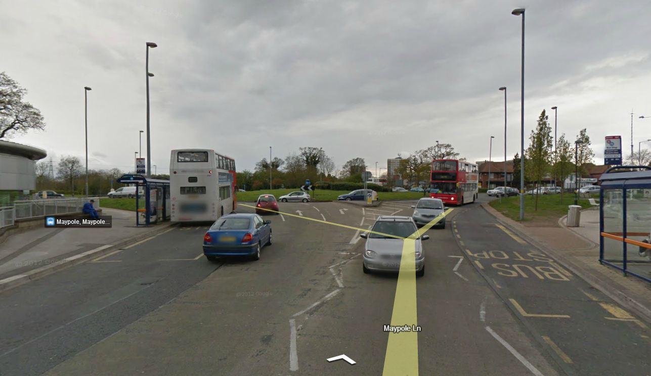 Maypole roundabout Birmingham