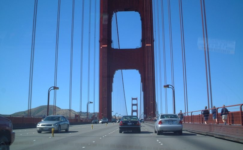 Overcome fear of driving over bridges