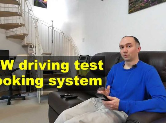Driving test for key workers