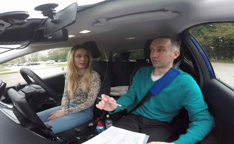 Driving test nerves hypnosis
