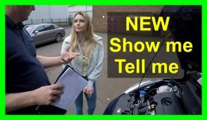 Mock driving test show me tell me questions and answers