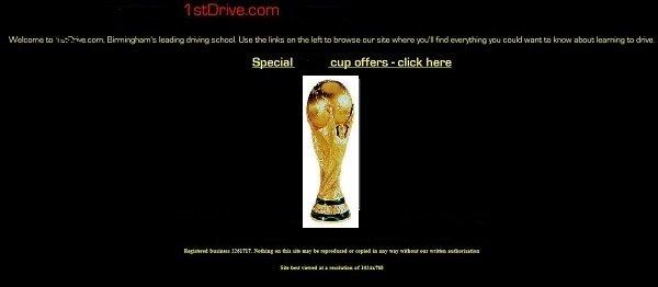 1stDrive.com site mark 1